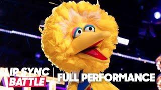 "Big Bird Performs ""Feeling Good"" & ""I Gotta Feeling""  | Lip Sync Battle"