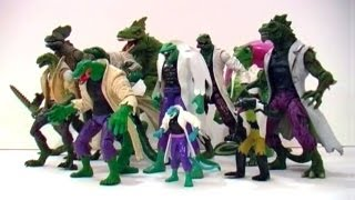 LIZARD Action Figure Evolution Episode 4!