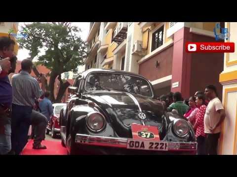 Vintage bike & cars  festival Goa India .  Part 2 cars continuations