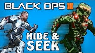 Black ops 3 hide and seek - With subscribers! [Road to 4k!]