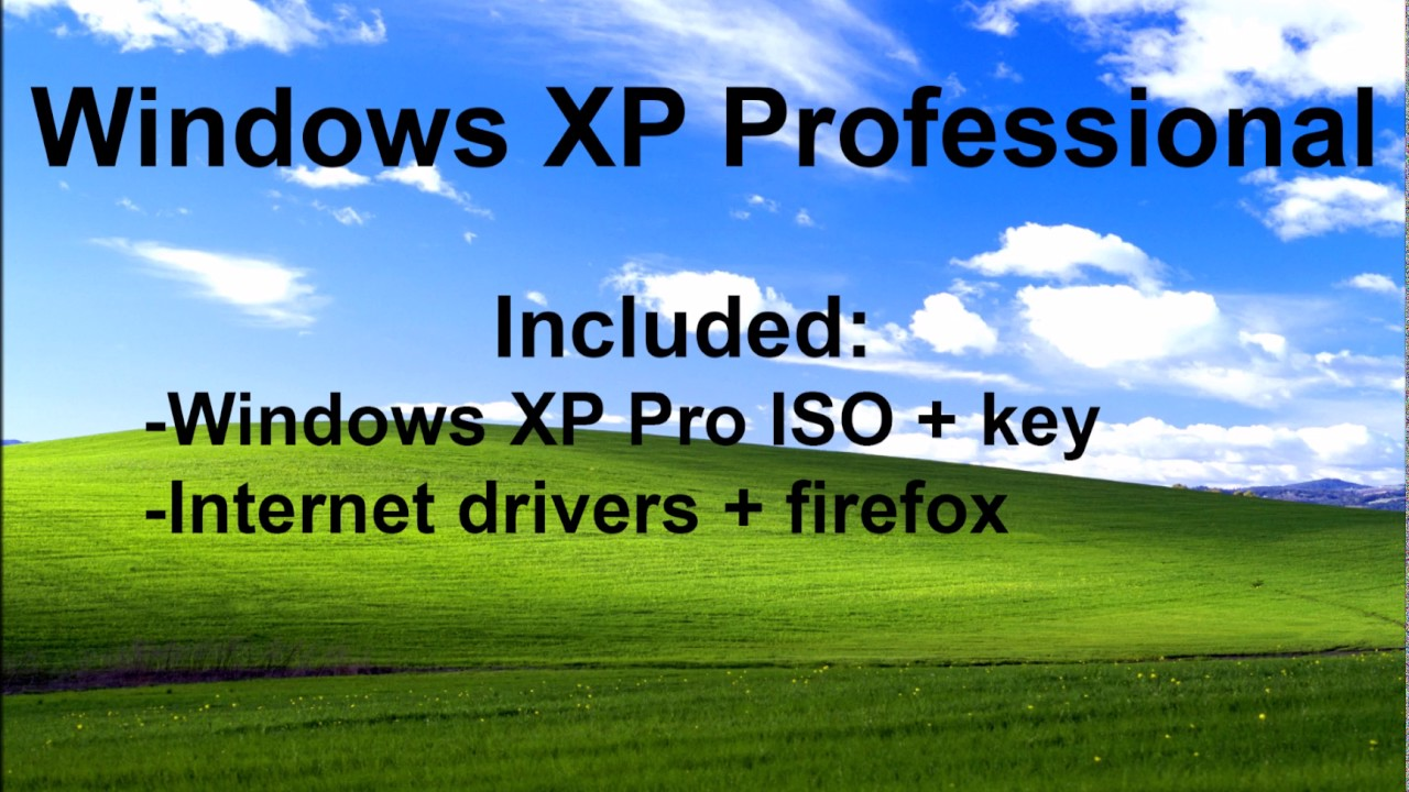 where to download wndows xp iso