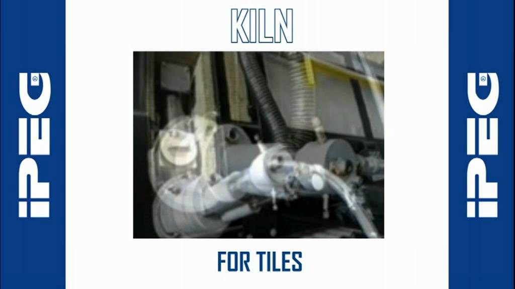 Ipeg Kiln For Ceramic Tiles Youtube