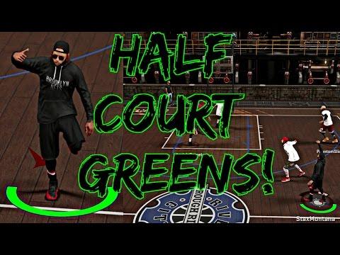 NBA 2K17 MyPark - HALF COURT GREENS DROPPING FROM DEEP!   RUNNING UP THE STREAK W/ PHANTOM SLICE!