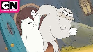 We Bare Bears | Ice Bear versus Ralph the Yeti | Cartoon Network