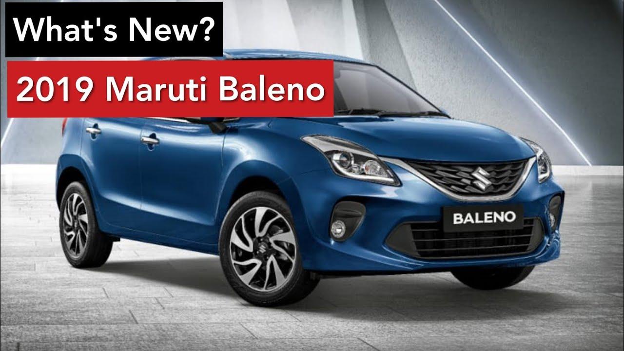 2019 maruti baleno facelift - all changes explained | icn studio