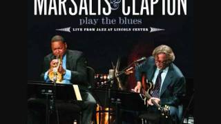 Eric Clapton & Wynton Marsalis, Joe Turner's Blues, 9th Apr 2011.wmv