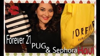 Forever 21, Pin Up Girl Clothing, and Sephora Haul!
