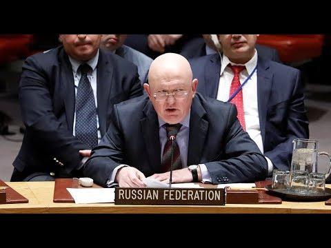 Russia's rep. statement