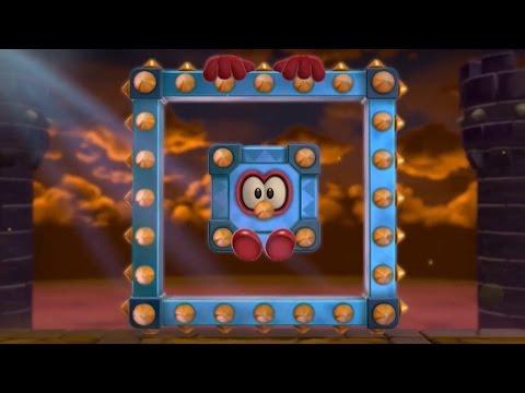 Super Mario 3D World - 100% Walkthrough: World 5 (2 Player)