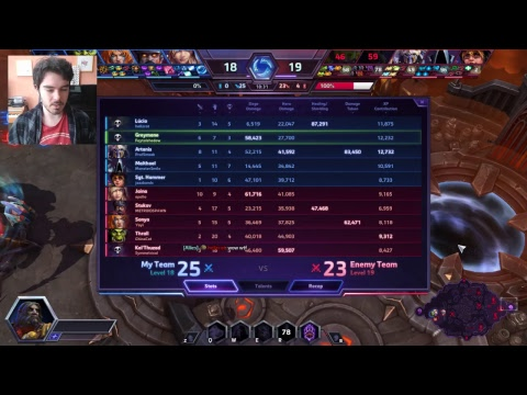 My battle.net beta server + coaching // Hero League a Day