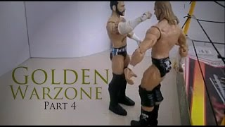CM Punk vs Triple H No DQ Golden Warzone: WM Stop Motion Wrestling