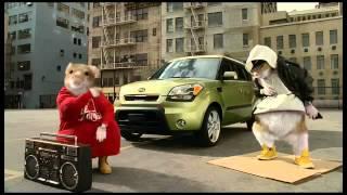 Хомяки на Kia Soul - реклама года в США