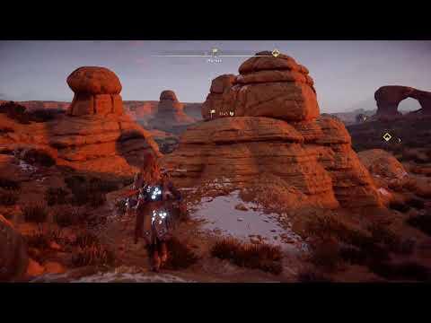 Walking the Map- Horizon: Zero Dawn (1080p 60fps)
