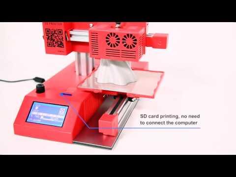 WINBO-Super Helper 3D Printer-Multi-function(3D Printing+Laser Engraving+Laser Cutting)