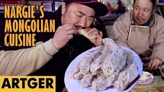 Nargie's Mongolian Cuisine: RIB BUUZ (A Unique Dumpling Recipe) S1/E12