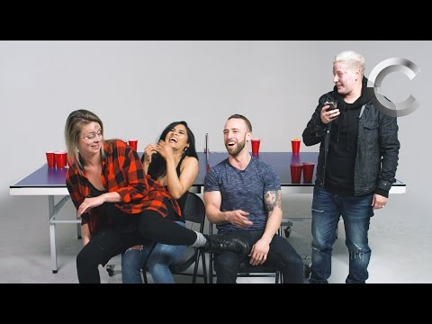 Couples Play Fear Pong (Rashel & Grant and The Amandas) | Fear Pong | Cut