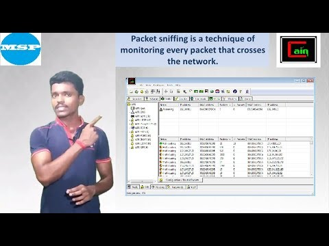 Cain&Abel Packet Sniffing - IN HINDI  (MSP TECH TIPS)