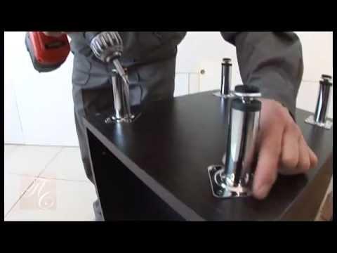 видео: Мастер класс по сборке кухни