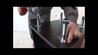 видео Сборка кухонной мебели