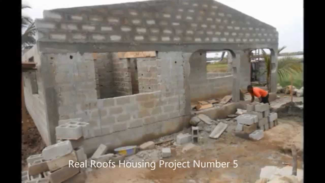 Housing homeless liberian families for 5 years youtube for Liberia house plans