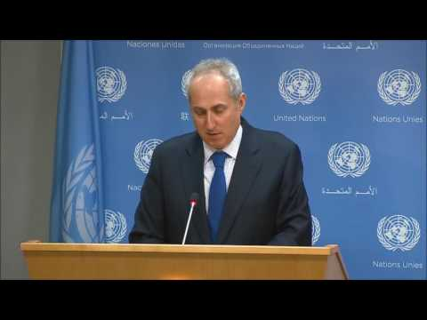 "ICP Asks Ban Ki-moon Spox of Gallach Claim of ""Altercation,"", He Calls It Personal, Walks Off"
