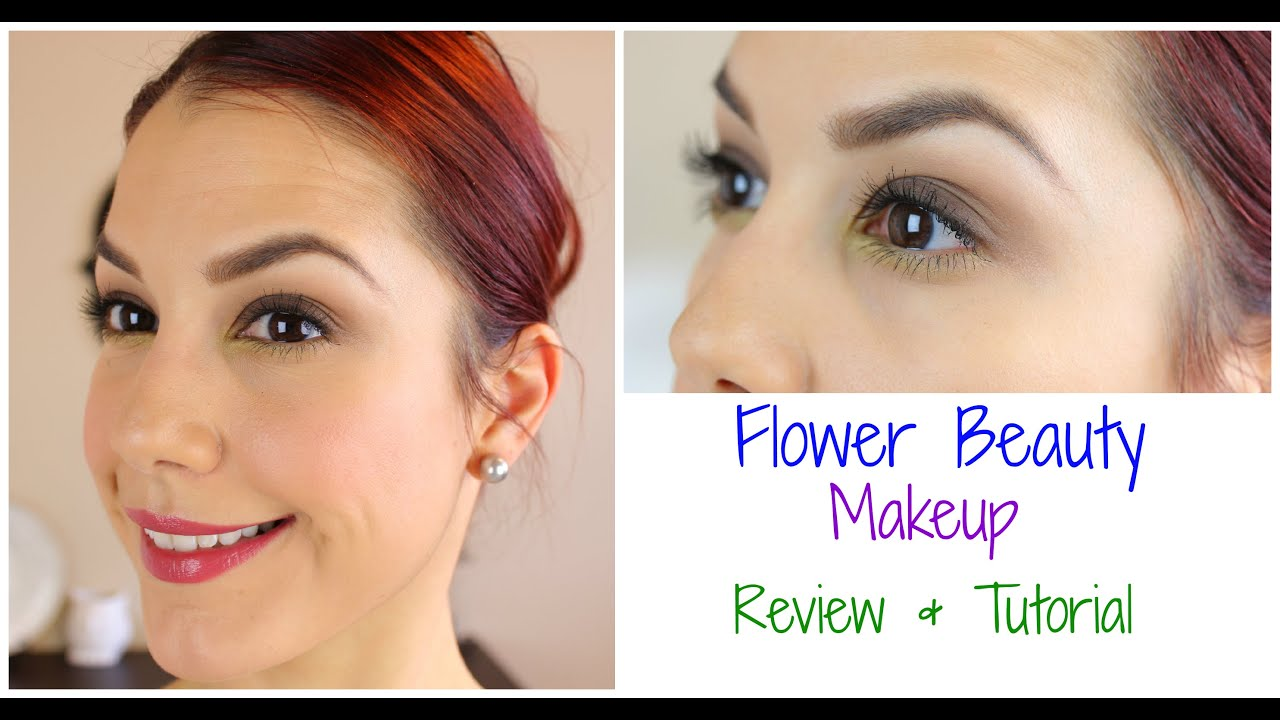 Flower beauty makeup review tutorial youtube izmirmasajfo Image collections