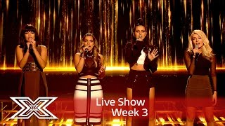 Repeat youtube video Four of Diamonds take on Who Are You in the sing off! | Results Show | The X Factor UK 2016