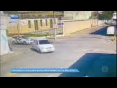 Criança é baleada durante perseguição policial no Espírito Santo