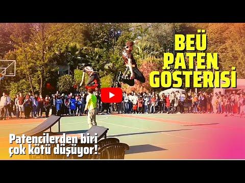 Bülent Ecevit Üniversitesi Paten Gösterisi ZONGULDAK
