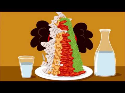 Healthy Eating Tips For Kids Cartoon Short