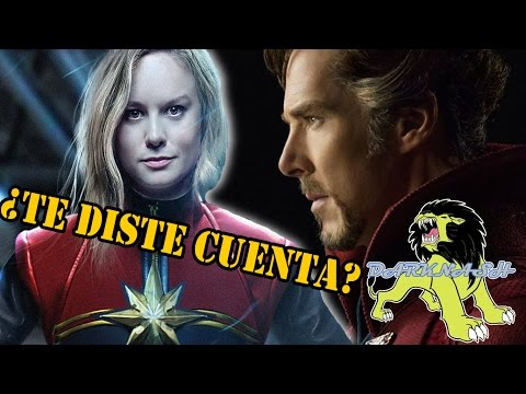 ¿Captain Marvel En Doctor Strange?   Darknash