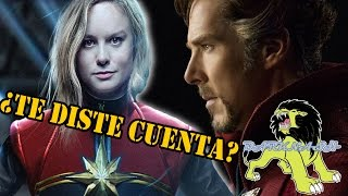 Captain Marvel En Doctor Strange  Darknash