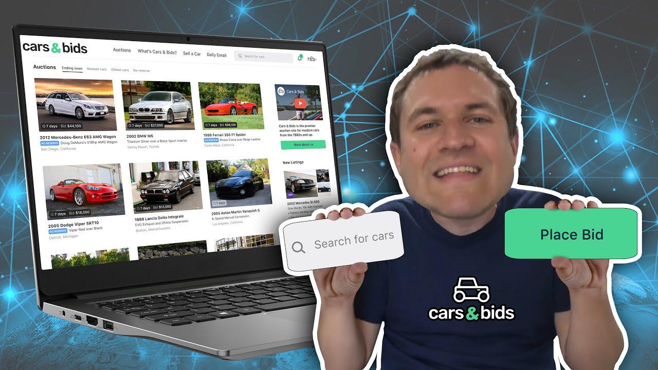 Doug Demuro Launches New Cars Bids Online Auction Website Carscoops