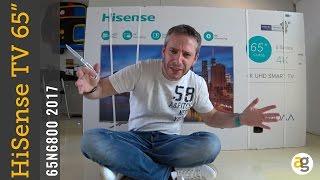 "RECENSIONE Tv Hisense 65"" 4K N6800"