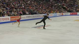Deanna Stellato-Dudek & Nathan Bartholomay Pt 1 - 2018 U.S. Nationals, Pairs' Free Skate
