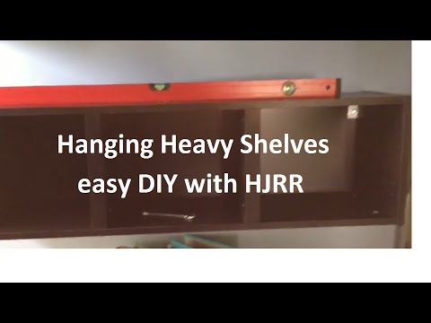 NewOldHouse Hanging Heavy Shelves -HJRR