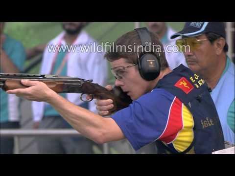 Men's double trap singles : Commonwealth Games Delhi 2010