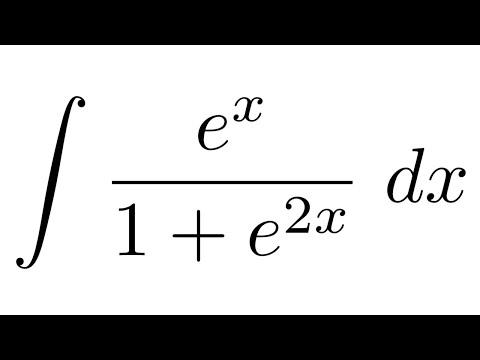 integral of e x