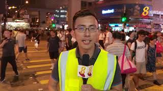 香港警民冲突不断 义务救护员留守前线