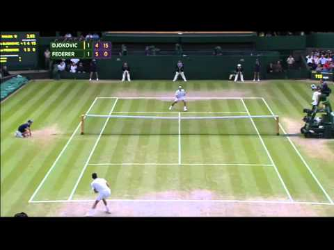 Djokovic vs Federer - Final Wimbledon 2014 - Highlights ITA - ProTeox -