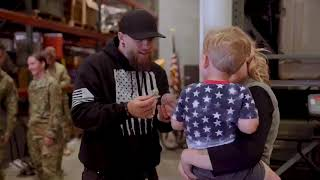 Gambar cover Brantley Gilbert | 'Fire & Brimstone' Album Release Day at Wright-Patterson AFB