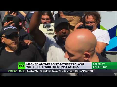 Growing Division: Anti-Fa clashes with Right Wing in Berkeley