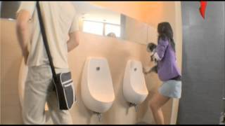 Repeat youtube video Naked and Funny. Miracles in the urinal