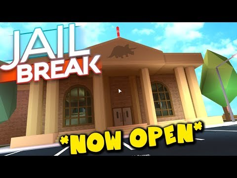 NEW JAILBREAK UPDATE IS OUT!! *NEW MUSEUM & NEW CAR*