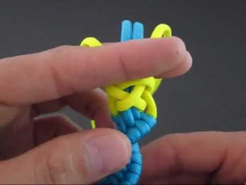 How to Make a Cyclonic Flow (Paracord) Fob by TIAT