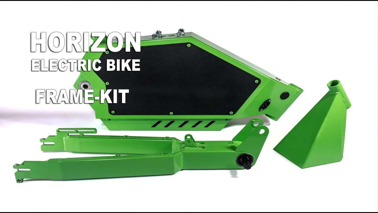 Horizon Electric Bike Frame Kit - YouTube