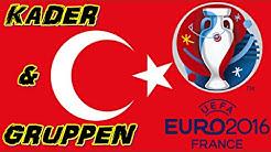 TÜRKEI Europameisterschaft Kader & Gruppen - EM 2016 FRANKREICH (Nominierung) ◄TÜR #01►