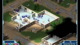 Laser Squad: Nemesis Gameplay - Marines vs Spawn