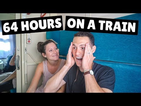 WE ALMOST MISSED OUR TRAIN! First Class Tour (Trans-Siberian Day 8)