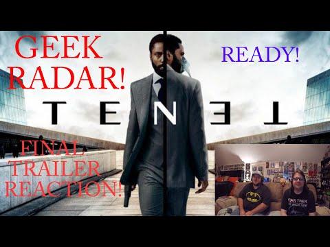 TENET – Final Trailer REACTION!